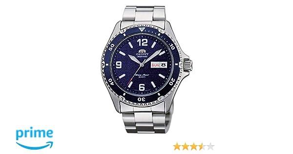 Orient Reloj Analogico para Mujer de Automático con Correa en Acero Inoxidable FAA02002D3: Amazon.es: Relojes