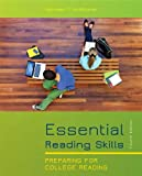 Essential Reading Skills : Preparing for College Reading (with NEW MyReadingLab with Pearson eText Student Access Code Card), McWhorter, Kathleen T. and Sember, Brette M., 0321850416
