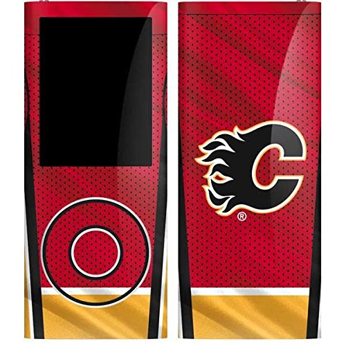 (NHL Calgary Flames iPod Nano (4th Gen) Skin - Calgary Flames Home Jersey Vinyl Decal Skin For Your iPod Nano (4th Gen))