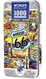 Masterpieces Route 66 World's Smallest 4 x 8 Tin Jigsaw Puzzle (1000-Piece)