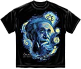 Erazor Bits T-Shirt Einstein Starry Night Black