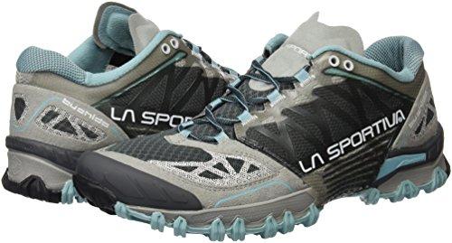 La Sportiva Bushido Woman Ice - Deportivos de running para mujer, color azul / gris, talla 42
