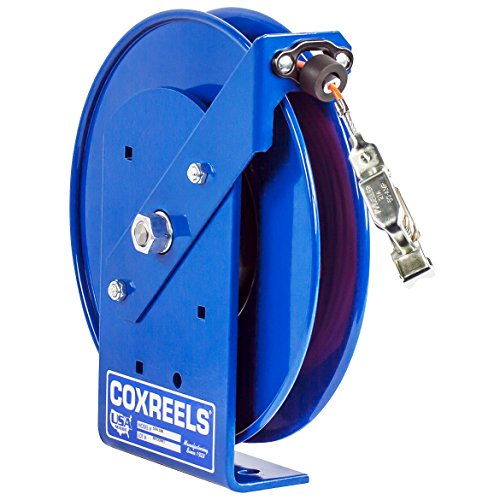 Coxreels SDH-100 Spring Rewind Static Discharge Hand Crank Cable Reel: 100' cable (Discharge Reels Static)