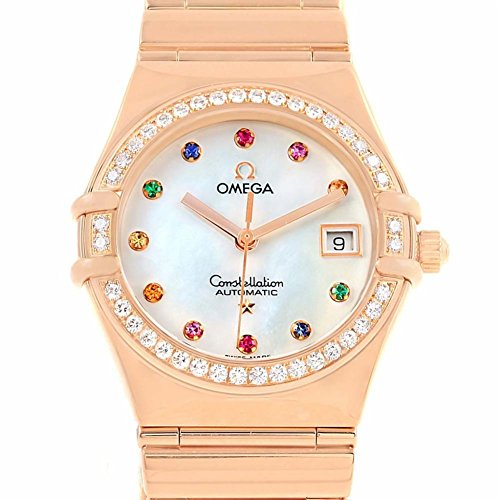 Omega Constellation quartz womens Watch 1140.79.00 (Certified Pre-owned)