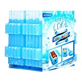 OICEPACK Ice Packs For Lunch Box (set of 10) Blue,Coolers Reusable Ice Pack,Freezer Ice Packs For Coolers,Small Ice Pack Long Lasting,Stay Cool Camping Cooler Ice Pack