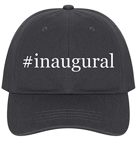 - The Town Butler #Inaugural - A Nice Comfortable Adjustable Hashtag Dad Hat Cap, Dark Grey, One Size