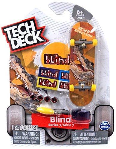 Tech Deck 2018 Finger Skateboard Blind Series 7 - Sewa Kroetkov Crocodile (ULTRA RARE CHASE)