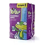 Kandoo Flushable Kids' Wipes, Sensitive, 250-Count