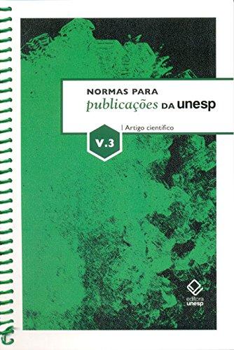 Normas Para Publicações Da Unesp V3 (Portuguese Edition)