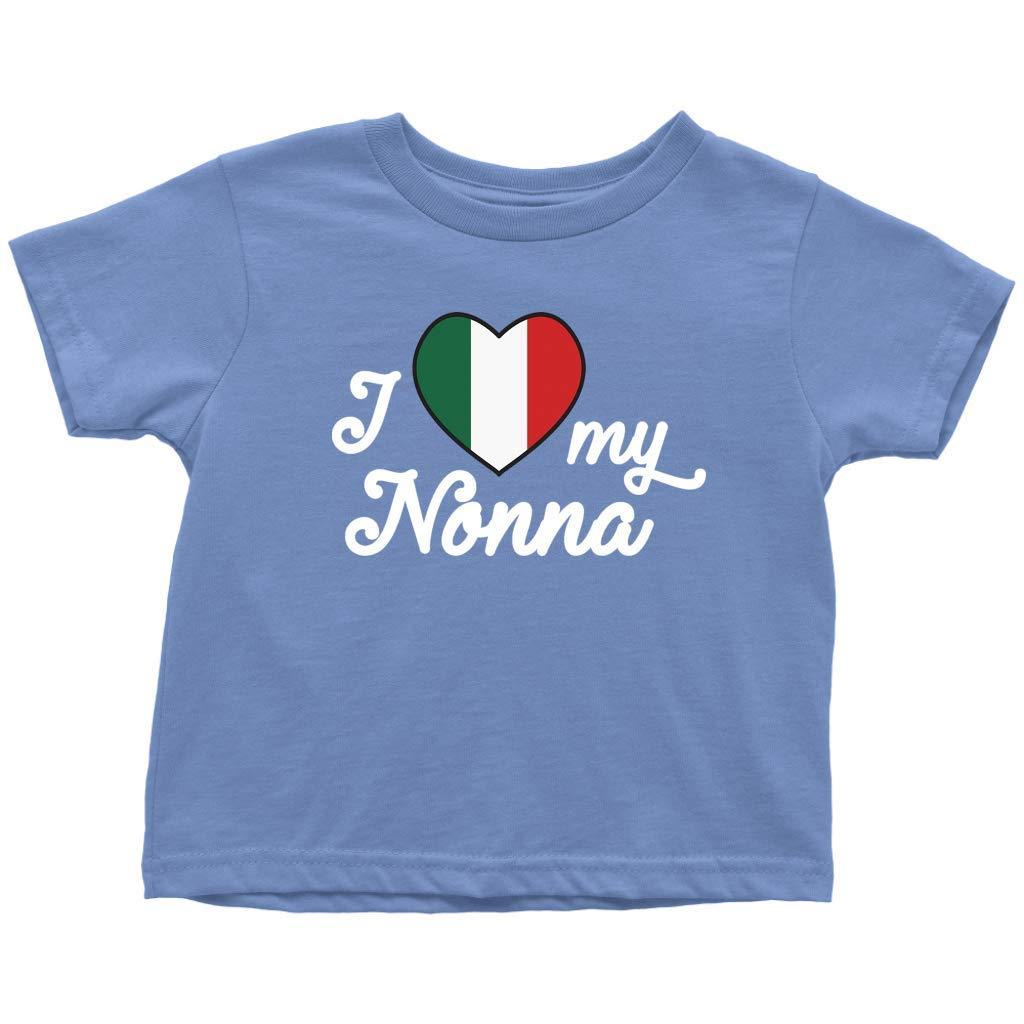 Clothes for Toddlers Boys and Girls I Love My Nonna Cute Toddler T-Shirt