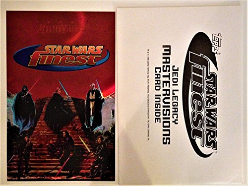 Star Wars Topps 1996 Finest Jedi Legacy Mastervisions Case Topper Card Fine Condition