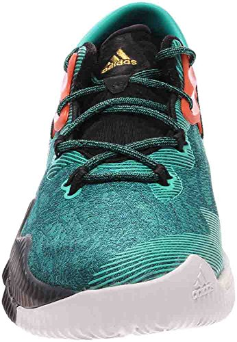 Adidas Mens Crazylight Boost Low 2016 Scarpe Da Basket Goldmetallic / Nero / Bianco