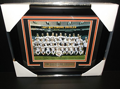 - 1983 BALTIMORE ORIOLES WORLD SERIES CHAMPIONS 8x10 TEAM PHOTO FRAMED