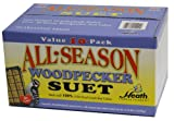 Heath Outdoor Products DD24-10 Woodpecker Suet Cake, 10 Pack