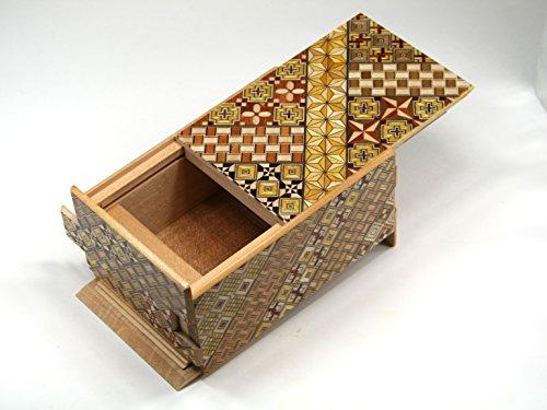 Japanese Puzzle box 21steps 5sun Koyosegi -