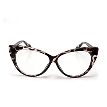 2b090b85a07bb Image Unavailable. Image not available for. Color  Aimeart Retro Vintage  Women s Eyeglasses Cat Eye Glasses ...
