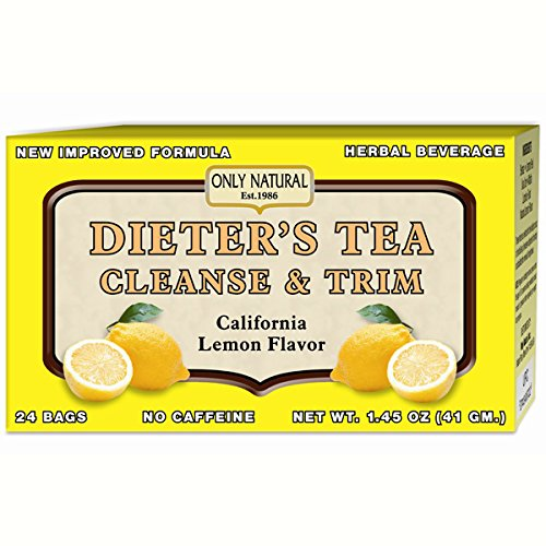 - Only Natural Dieter's Tea Cleanse & Trim, 24 Count