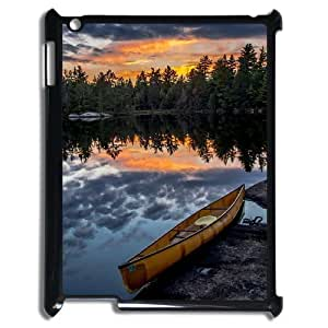 Canoe Custom Cover Case with Hard Shell Protection for Ipad2,3,4 Case lxa#247498 by mcsharks