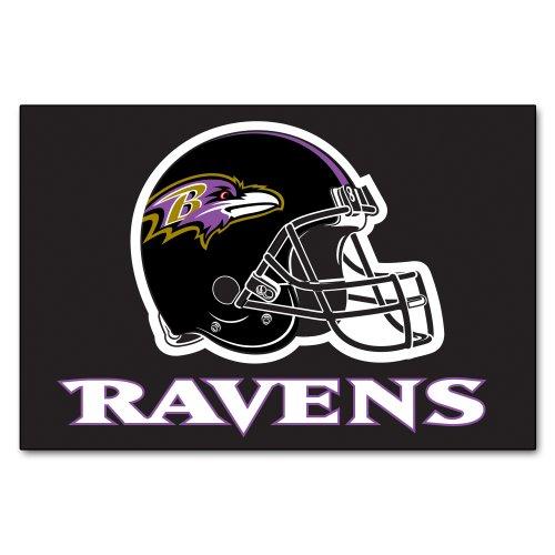 FANMATS NFL Baltimore Ravens Nylon Face Starter Rug