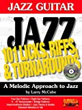 img - for 101 Jazz Guitar Licks, Riffs & Turnarounds with CD book / textbook / text book