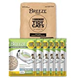 Purina Tidy Cats Litter Pellets - BREEZE Refill Litter Pellets - (6) 3.5 lb. Pouches