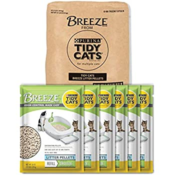 Amazon Com Purina Tidy Cats Litter Pellets Breeze