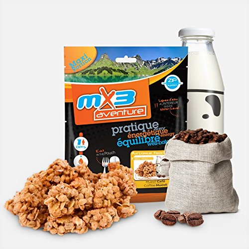 MX3 Adventure Freeze Dried Meal - Cafe y Muesli