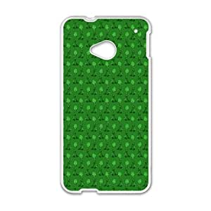 HTC One M7 Cell Phone Case White Zombie Psfwn