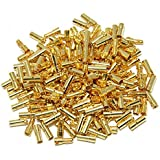 Foxnovo 20 Pairs of 3.5mm Gold Plated Bullet Banana Connector Plugs Male Female for RC Battery ESC Motor