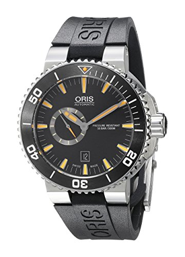 Oris-Mens-74376734159RS-Aquis-Analog-Display-Swiss-Automatic-Black-Watch