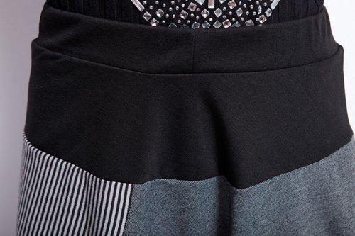 Ajustable Sarouel L Pantalon Cordon Femme Serrage Gris che Long Ellazhu Gy259 De wBzTCqxX