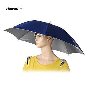 Sombrero paraguas Tiswell de 66 cm de diámetro, elástico, para