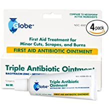 Triple Antibiotic First Aid Ointment (Compare to Neosporin) ( 4 PACK)