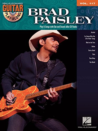 Hal Leonard Brad Paisley - Guitar Play-Along Volume 117 Book/CD