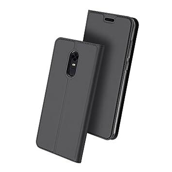 new styles 920ce b202e Xiaomi Redmi 5 Plus Case, GOGME PU Leather Wallet: Amazon.co.uk ...