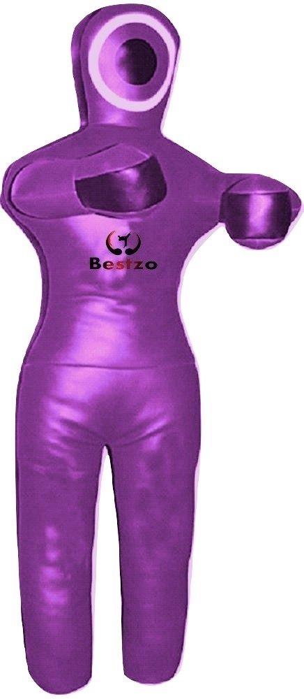 雑誌で紹介された bestzo MMA Jiu Jitsu柔道Punching Purple Bag GrapplingダミーパープルStanding位置Hands On front-unfilled front-unfilled 48 B0779JM47W inches (4 ft) Canvas Purple B0779JM47W, 夢の屋:55998608 --- a0267596.xsph.ru