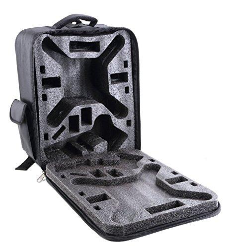 i.Trek Black Nylon Backpack Carrying Case for DJI Phantom 1 2 Vision / Vision+ / FC40 X350 PRO
