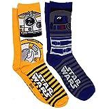 Star Wars R2-D2 BB-8 2 Pack Casual Crew Socks