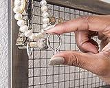 Jewelry Organizer with Bracelet Holder Pegs