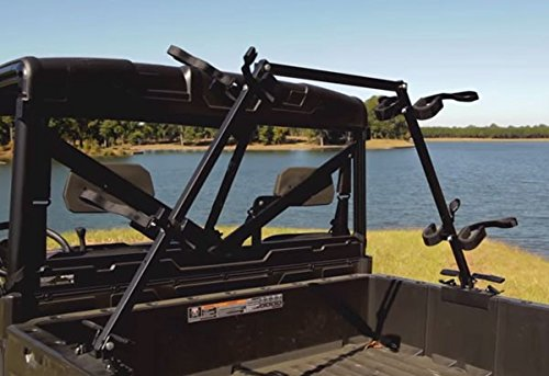 Kawasaki Teryx 4 2016 Sporting Clays UTV Gun Rack for Your Cargo Bed by Great Day (Image #2)