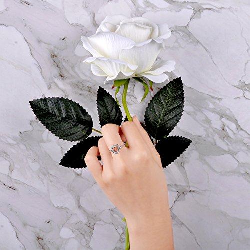 Twenty Plus Disney Mickey Silhouette Finger Ring With Clear CZ Jewelry Gifts For Girls & Women by Twenty Plus (Image #3)