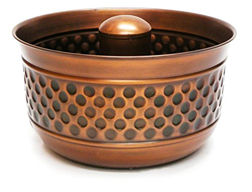 Handcrafted Montego Venetian Bronze Outdoor Patio and Garden Hose Pot by CC Home Furnishings