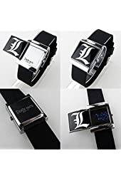 Death Anime Note Cool Slide Watch White LED Watch Cool!