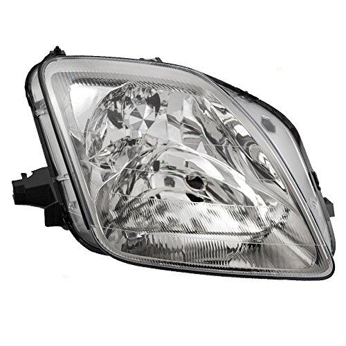 Honda Prelude Headlamp (Passengers Headlight Headlamp Replacement for Honda 33101S30A02)