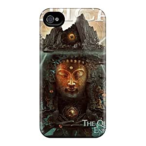 Best Hard Cell-phone Cases For Iphone 4/4s (NZX18676ynjP) Unique Design Stylish Papa Roach Skin