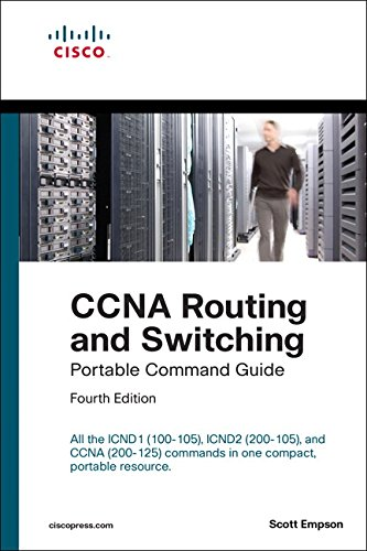 CCNA Routing and Switching Portable Command Guide (ICND1 100-105, ICND2 200-105, and CCNA 200-125) [Scott Empson] (Tapa Blanda)
