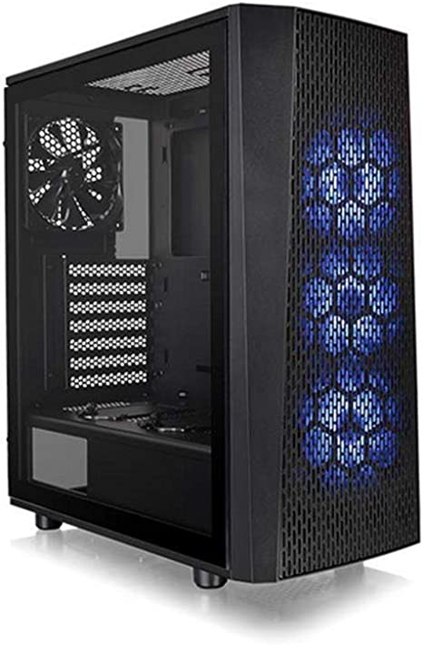 Thermaltake Versa J24 TG RGB - Caja Gaming para PC, Color Negro ...