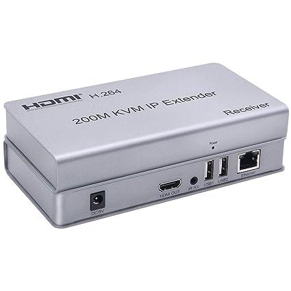 Tobo HDMI 200 m KVM over Ethernet Extender Single Cat6