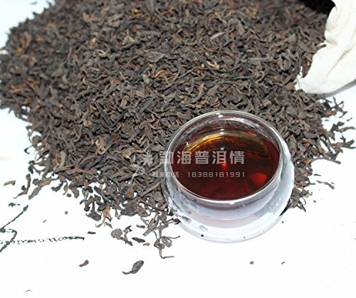 Aseus Yunnan Pu'er Tea tea tea powder 06 year class tea fragrance one kilogram bag chapter Zhang mail bag by Aseus-Ltd