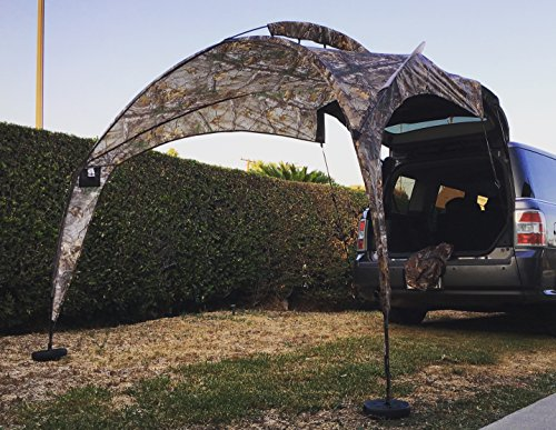 Tail Gator Sunshade Portable Shade - Camo (Requires Cf Card)